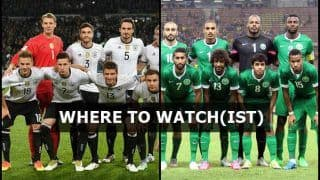 Germany vs Saudi Arabia FIFA International Friendly Live Streaming: When And Where to Watch on TV (IST)