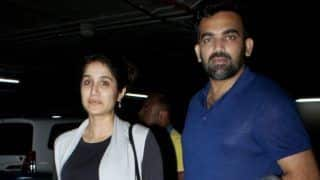 PICS: Zaheer Khan And Sagarika Ghatge Head Back to Mumbai after Holidaying in Australia