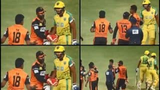 Tamil Nadu Premier League 2018: Ruby Trichy Warriors vs Lyca Kovai Kings: Watch Shahrukh Khan Get Into an Heated Altercation With Dakshinamoorthy Kumaran