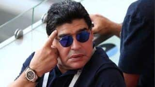 Argentine Legend Diego Maradona Released From Argentine Hospital, Plans Return to Mexico