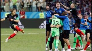 FIFA World Cup 2018: Relief Mixed With Joy For Luka Modric as Croatia Pip Denmark in Penalty Shootout