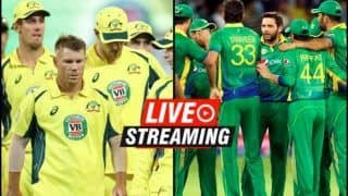 Australia vs Pakistan Finals, Live Streaming Twenty20 Tri-Series at Harare: When And Where to Watch