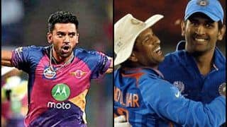 Deepak Chahar Reveals Sachin Tendulkar's Influence in His Career And His Meeting With MS Dhoni