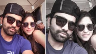 Ignored From Tests, Rohit Sharma-Ritika Sajdeh Spend Time in Prague -- PIC