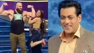 Braun Strowman in India: WWE Superstar Meets Salman Khan, Sonakshi Sinha, Kamal Hasan on The Sets of 'Dus Ka Dum' -- WATCH
