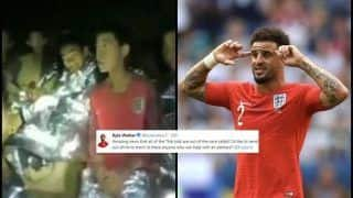 FIFA World Cup Semi-Final 2: England vs Croatia -- After Paul Pogba's Gesture, Kylie Walker Offers to Give England T-Shirts to Thai Cave Survivors