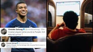 FIFA World Cup Finals 2018: France Beats Croatia 4-2 -- Sachin Tendulkar to Virender Sehwag's 'Mbappe' Tweet And How Fans Celebrated -- WATCH