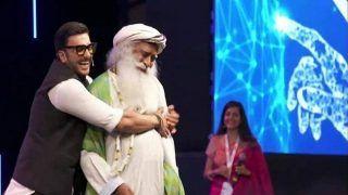 रणवीर सिंह ने सदगुरु के साथ किया जबरदस्त डांस, वीडियो VIRAL