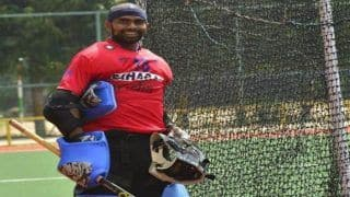 PR Sreejesh to Lead Indian Squad at 2018 Asian Games