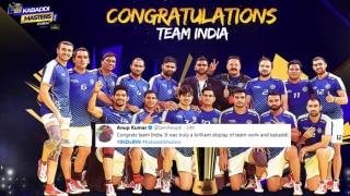 Kabbadi Masters Dubai 2018: India Beat Iran -- Anup Kumar to Babul Supriyo, How Celebs Congratulated Ajay Thakur-Led Invincible India