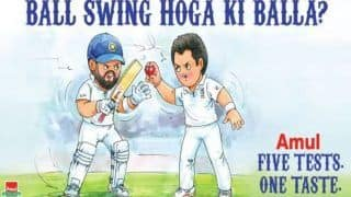 India vs England 1st Test, Edgbaston: Amul's Latest ad on India Captain Virat Kohli And James Anderson is Delicious