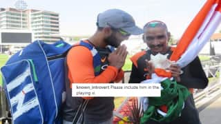 India vs England 1st ODI: Fan Sudhir Gautam Meets Team India, Dinesh Karthik at Trent Bridge, Netizen Wants Him Included in Team