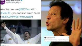 BBC Newsnight Goofs-up Imran Khan's Name With Wasim Akram Over Pakistan Prime Minister's Race, Gets TROLLED Brutally