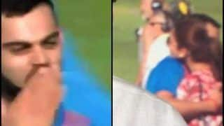 India vs England: Virat Kohli-Anushka Sharma in UK -- From Giving Flying Kiss to The Hug, Virushka Moments That Won Our Hearts -- WATCH