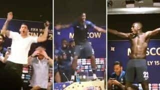 FIFA World Cup 2018 Final: Paul Pogba, Kylian Mpabbe And France Football Team Invade Coach Didier Deschamps' Press Conference After Beating Croatia - Watch