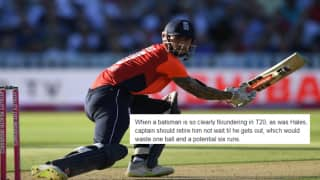 India vs England: Alex Hales Engages in a Twitter War With Former English Cricketer Who Wants Batsman to Retire