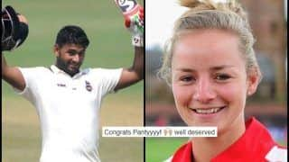 India vs England: Rishabh Pant Gets Maiden Test Call-up, Danielle Wyatt Congratulates Him
