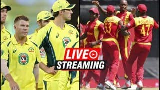 Zimbabwe vs Australia Live Streaming, 3rd T20I Tri-Series: When And Where to Watch on TV