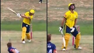 T20 Blast, 2018: Essex vs Hampshire -- Watch Colin Munro Get Hit Flush on His Crotch