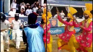 Essex vs India, 3-Day Practice Match: Watch Bhangra Dancers Welcome Hardik Pandya-Dinesh Karthik to Crease on Day 2