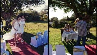 South Africa Women Cricketers Dane van Niekerk-Marizanne Kapp Tie The Knot