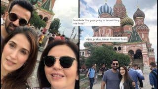 FIFA World Cup 2018 Finals: Croatia vs France -- Zaheer Khan-Sagarika Ghatge, Neeta Ambani Spotted In Russia, Are They Attending The Match? -- PICS