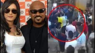 Former Indian Cricketer Vinod Kambli Fought With Bollywood Singer Ankit Tiwari After Cricketer's Wife Andrea Alleged Inappropriate Touch by Singer's Father -- WATCH