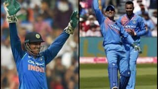 India vs England 2nd ODI: MS Dhoni Reaches Milestone, Fourth Wicketkeeper to 300 ODI Catches, Joins Kumar Sangakkara in Elite Club