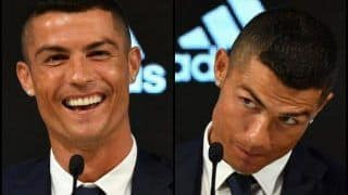 Cristiano Ronaldo Takes Dig at Mohammed Salah at Globe Soccer Award