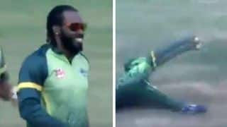 Global T20 Canada: Chris Gayle Takes a Stunning Catch, We Bet You Haven't Seen Him Take Something Better -- WATCH