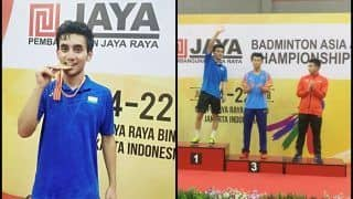 Badminton Asian Junior Championship: Lakshya Sen Creates History,  Beats World No1 K.Vitidsarn 21-19,21-18