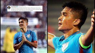 Sunil Chhetri Thanks Fans in a Tweet After Winning AIFF Player of the Season 2017, Full List of Winners