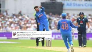 India vs England 1st ODI Trent Bridge: VVS Laxman to Mohammed Kaif, How Twitter Hailed Kuldeep Yadav
