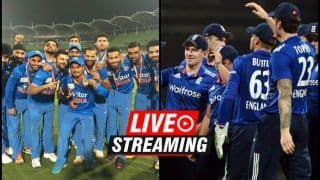 India Vs England 1st T20 Live Streaming: When And Where to Watch Live Streaming on TV