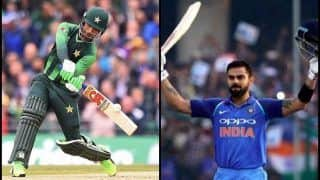 Pakistan vs Australia Finals: Fakhar Zaman Equals Virat Kohli, Mohammed Shahzad's Record to Become 3rd Batsman to Score 500+ Runs in a Calendar Year