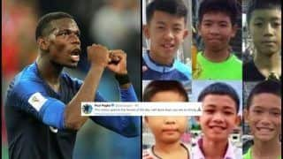 FIFA World Cup 2018: Paul Pogba Dedicates France's Semi Final Win Over Belgium to Thai Cave Survivors And Wins Hearts Instantly