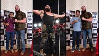 Braun Strowman in India: After Kane, Triple H, WWE Superstar Wants to Fight Stone Cold Steve Austin -- WATCH