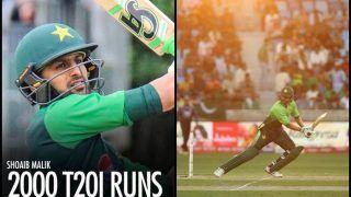 Pakistan Tour of Zimbabwe 1st T20I: Pakistan Cricketer Shoaib Malik Tips Virat Kohli to Become Third Batsman to Score 2000 International T20 Runs