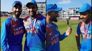 WATCH: I Was Missing my Wife Ritika, Says Rohit Sharma After Record-Breaking 3rd T20I Ton