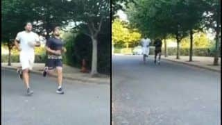 India vs England Test: Watch Indian Cricketers Umesh Yadav, Karun Nair Run on Streets as Part of Training