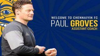 Chennaiyin FC Appoints Englishman Paul Groves as Assistant coach Ahead of Indian Super League (ISL)