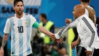 FIFA World Cup 2018: Argentina Head Coach Jorge Sampaoli Says He's Not Considering Stepping Down After Argentina's Exit