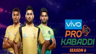 Pro Kabaddi League 6 Schedule Out