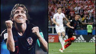 FIFA World Cup 2018 Semi-Final 2: England vs Croatia -- Watch How Gareth Southgate's Three Lions Lost to Luka Modric's Croatia
