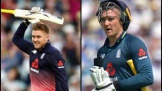 IND vs ENG 3rd ODI: Jason Roy Doubtful For Series Decider After Suffering Finger Injury; James Vince, Sam Billings Added to England Squad