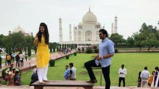 Prassthanam: Ali Fazal and Amyra Dastur Shoot at The Monument of Love For a Song Sequence