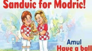 Amul's Tribute to FIFA World Cup 2018 'Golden Ball' Winner Luka Modric is Winning Hearts Worldwide
