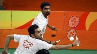 World Championship: HS Prannoy, Manu Attri-B Sumeeth Reddy Enter Second Round