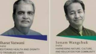 Ramon Magsaysay Awards 2018: Two Indians Sonam Wangchuk, Bharat Vatwani Among Winners
