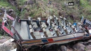 Uttarakhand: 48 Killed, 11 Injured After Bus Falls Into 200-Metre Deep Gorge in Pauri Garhwal; CM Trivendra Singh Rawat  Announces 2 Lakh Compensation For Kin of Dead